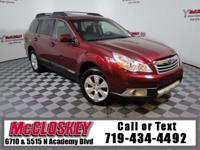 Explore the Outback in this Subaru Outback! All Wheel