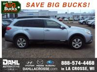 Recent Arrival! 2012 Subaru Outback 3.6R Limited Clean
