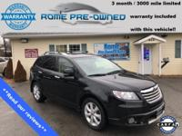 Black 2012 Subaru Tribeca Touring 3.6 R AWD 5-Speed