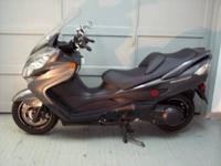 2012 Suzuki AN 400 Burgman scooter with only 2930