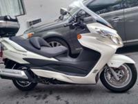 2012 Suzuki Burgman 400cc . $4400 automatic