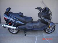 I have a 2012 Suzuki Burgman 650 Executive Model in