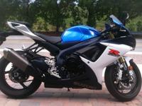 2012 Suzuki Motorcycle GSX-R750 with 7385 highway