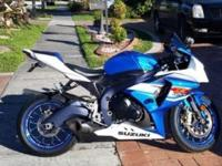 2012 Suzuki gsxr 1000. Mint condition. Runs great. Pm