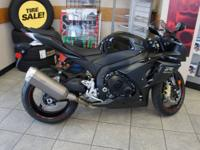 Save $$ on gas - buy a motorcycle! Stunning black GSX-R