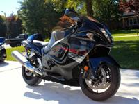 Excellent Condition a 2012 Suzuki Hayabusa with only
