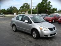 THIS 2012 SUZUKI SX4 LE SEDAN HAS FULL POWER, ALUMINUM