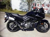 I currently have a 2012 Suzuki V Strom 1000 Adventure