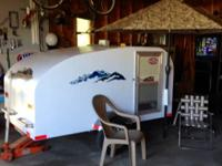 2012 Teardrop Style Trailer Nice!!!, Homebuilt, inside