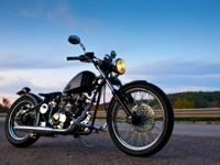 SAVE OVER $1.000.00 ON THIS 2012 CCW 250CC BOBBER YOU