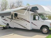 2012 Thor Chateau 31K class C gas motorhome, (1) super