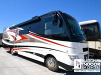 This 2012 Serrano 31X is loaded with a full body paint,