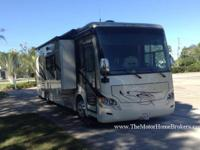 Model 32 BR with 2 slide-outs. This diesel pusher in a