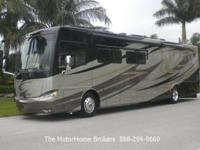 2012 Tiffin Phaeton 40 QBH w/4 Slide-Outs + Bath &