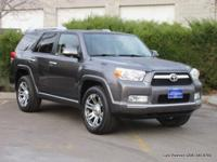 2012 4Runner Limited 4x4 in graphite grey with black
