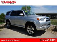 Options:  2012 Toyota 4Runner Limited|Awd Limited 4Dr