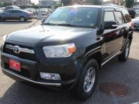 Black 2012 Toyota 4Runner SR5 4WD 5-Speed Automatic