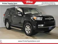 CARFAX One-Owner! Toyota Certified! 2012 Toyota 4Runner