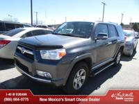 Options:  2012 Toyota 4Runner Sr5|4X4 Sr5 4Dr Suv|Thank