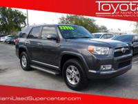 Options:  2012 Toyota 4Runner Trail|Magnetic Gray