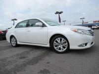 White 2012 Toyota Avalon FWD 6-Speed Automatic ECT-i