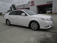 White 2012 Toyota Avalon Limited FWD 6-Speed Automatic