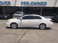 Drive home this 2012 Toyota Avalon in Blizzard Pearl