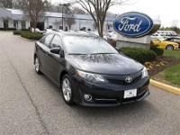 CLEAN CARFAX 1 OWNER2012 TOYOTA CAMRY SE TRIM LEVEL2.5L