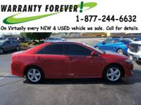 2012 Toyota Camry 4 Dr Sedan SE Our Location is: Roper