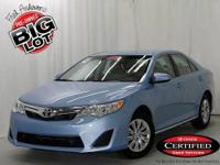Camry L and Toyota Certified. Super gas saver! Economy