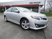 2012 Toyota Camry SE, Classic Silver Metallic with