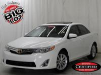 Camry XLE, Toyota Certified, 3.5 L V6 SMPI DOHC, Super