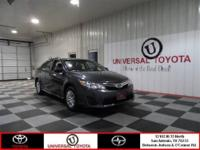 Check out this Gray 2012 Toyota Camry SE with 16k