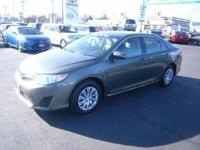 LE trim. CARFAX 1-Owner, Toyota Certified, GREAT MILES