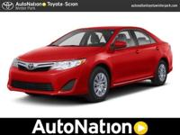 2012 Toyota Camry Our Location is: AutoNation Toyota