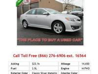 2012 Toyota Camry Base 4dr Sdn I4 Auto L Sedan Gray I4