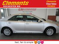 Options:  2012 Toyota Camry 4Dr Sdn Le|Front Wheel