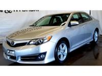 This 2012 Toyota Camry  has a L4, 2.5L high output