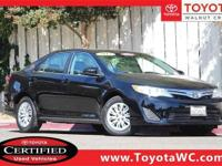 Toyota Certified, Standard Equipment MECHANICAL &