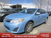 Options:  2012 Toyota Camry|Le 4Dr Sedan|Thank You For