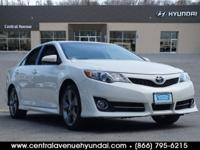 New Price! 2012 Toyota Camry SE Super White Clean