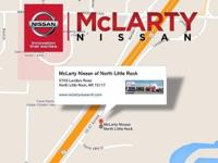 Cloth. At McLarty Nissan NLR, YOU'RE #1! What a