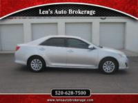 Options:  2012 Toyota Camry Hard To Beat Toyota And A