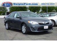 2012 Toyota Camry LE 4D Sedan LE Our Location is: