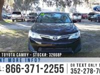 2012 Toyota Camry LE. Features: Front Wheel Drive - USB