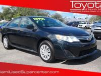 Options:  2012 Toyota Camry Le|Blue|2012 Toyota
