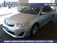 New Price! Silver 2012 Toyota Camry LE FWD 6-Speed