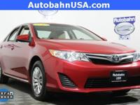 Barcelona Red Metallic 2012 Toyota Camry LE FWD 6-Speed