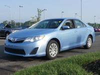 Toyota Camry LE 2012 Light Gray w/Fabric Seat Trim.