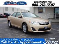 Beige FWD 2012 Toyota Camry LE ***NO ACCIDENTS***,